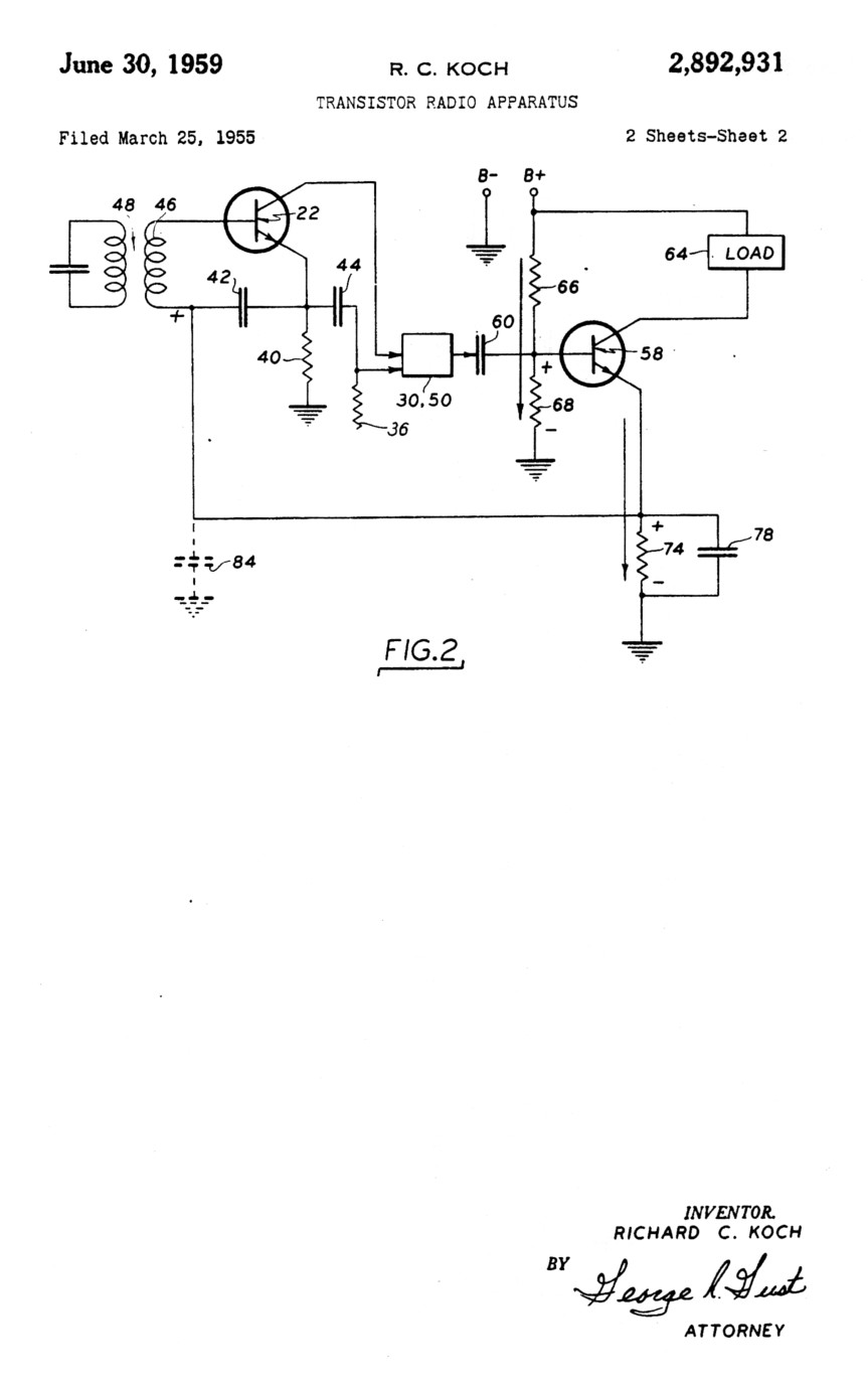 Tr 1 Patent And Circuit Diagram Year 4 Page 2 Of